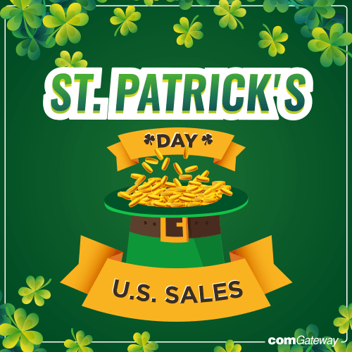 St. Patrick's Day Sales
