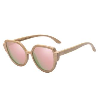 Mastho Cat-eye Bamboo Sunglasses