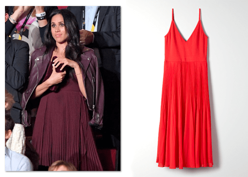 Wilfred by Aritzia dress worn by Meghan Markle
