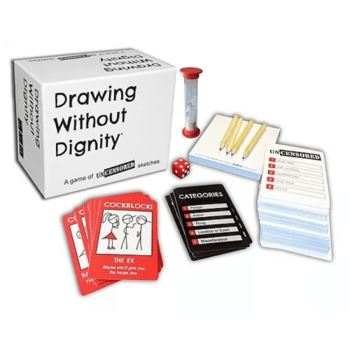 Fun Board Games for Adults- Drawing Without Dignity