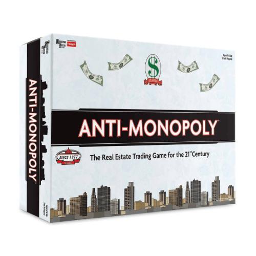 Fun Board Games for Adults- Anti-Monopoly