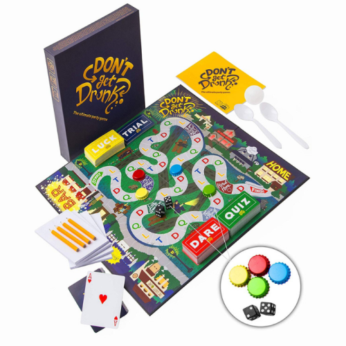 Fun Board Games for Adults- Don't Get Drunk