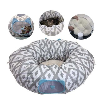 Cat supplies- Kitty City Tunnel Bed