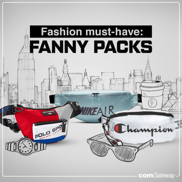 Fanny packs for women and men- blog cover