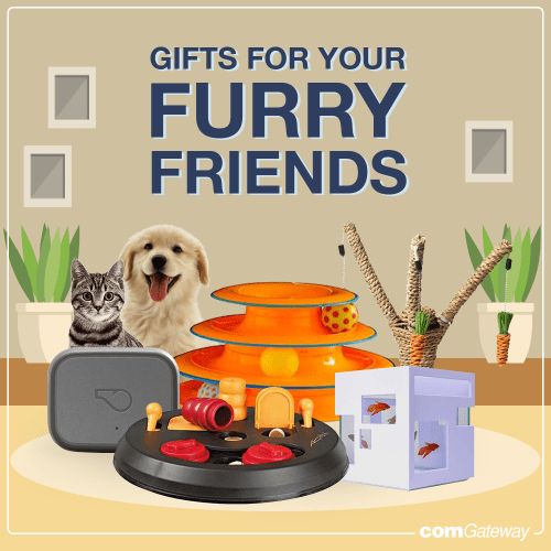 Gifts for your furry friends blog cover