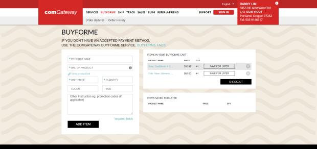 BuyForme screenshot 4