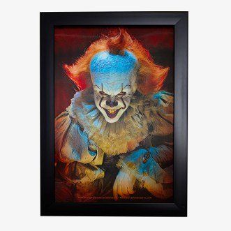 IT Chapter 2 merch- Hot Topic Pennywise Lenticular Wall Art