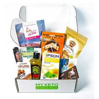 My Keto Snackbox subscription box