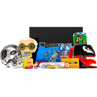 Lootcrate subscription box