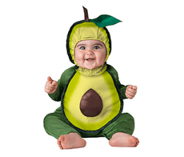 Babies' costume- avocado