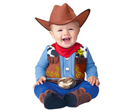Baby's costume- Woody from Toy Story