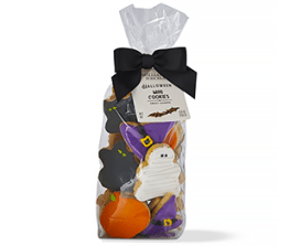 Halloween candies and chocolates- Mini iced cookies from Williams Sonoma