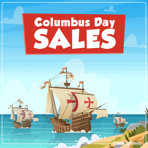 Columbus Day Sales 2019 blog cover photo