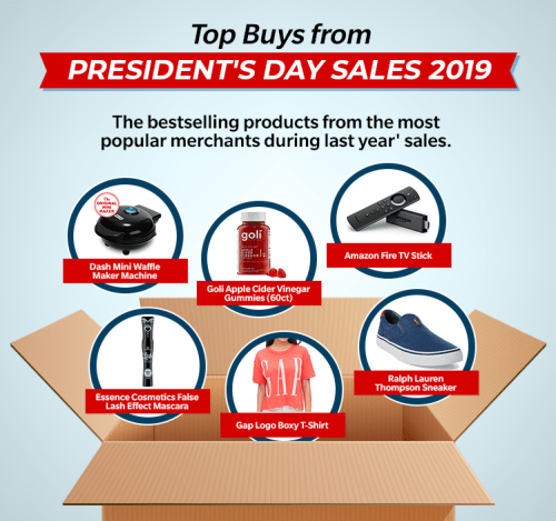 Top Products- President's Day Sales 2019
