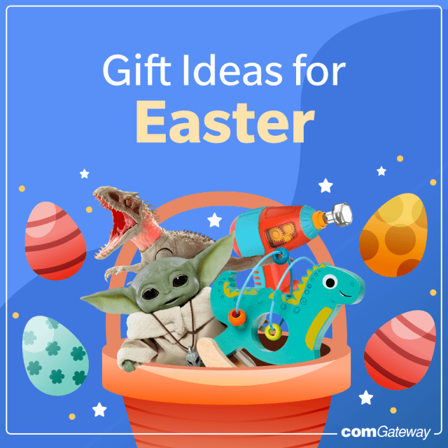 Easter GIft Ideas for Kids and Kids-at-Heart