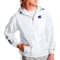 CHAMPION C Logo Mens Packable Jacket