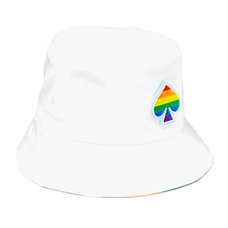 Kate Spade Rainbow Reversible Bucket Hat