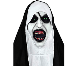 Homelex The Nun Masks Deluxe Cosplay Costume Props