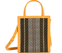 Charles and Keith Woven Double Handle Tote Bag