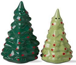 Tag Joyful Tree Salt & Pepper Shakers