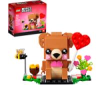 Lego Valentine's Bear
