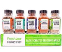 FreshJax Organic Grilling Spices Gift Set
