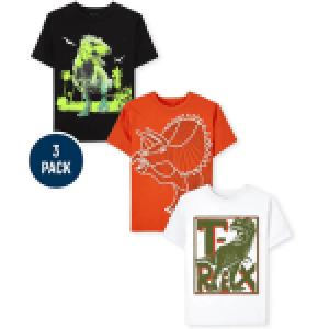 The Children's Place Dino Graphic Tee 3 Pack