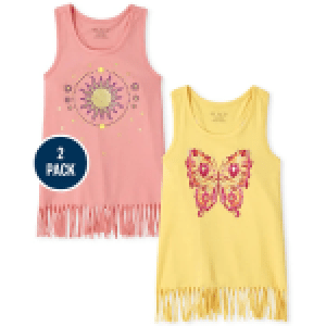 The Children's Place Butterfly Sun Fringe 2 Pack