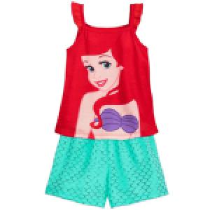 Shop Disney Ariel Short Sleep Set for Girls