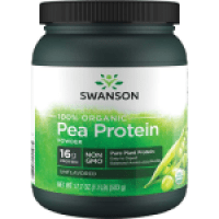Swanson Organic Pea Protein Powder