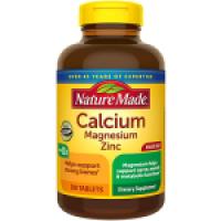Nature Made Calcium Magnesium Zinc