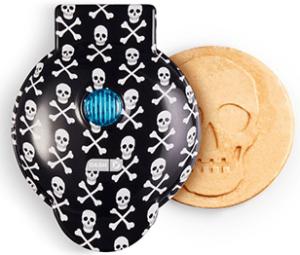 Dash Mini Design Skull Waffle Maker