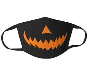 Pumpkin Smile Mask