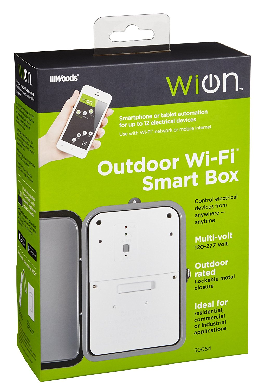 hight resolution of wion outdoor smart box 50054