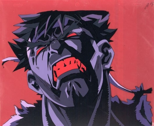 Ryu fights Dark Hado energy.jpg