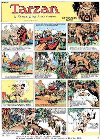 Tarzan Sonntagsseiten, Band 4, 1937 - 1938