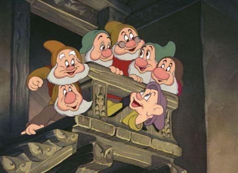 Walt Disney: Schneewittchen und die sieben Zwerge