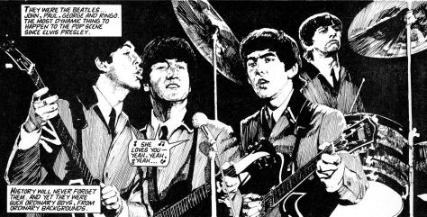 The Beatles - The Graphic-Novel-Biographie