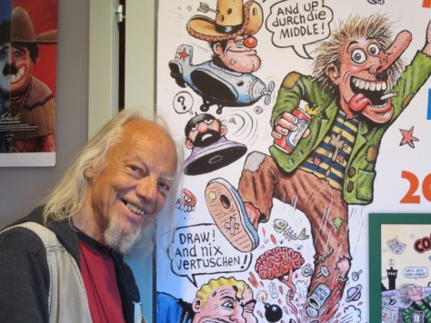 Tom Bunk: Comixzeichner in Berlin und New York