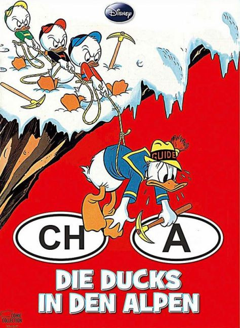 Die Ducks in den Alpen
