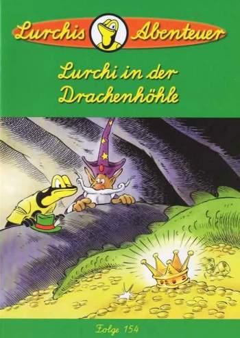 Lurchi in der Drachenhöhle – Das lustige Salamanderheft # 154