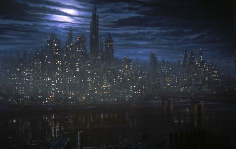 "Gotham in Tim Burtons ""Batman"" (1989)"