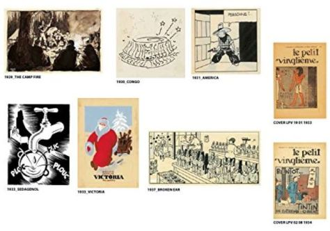 Die Kunst von Hergé