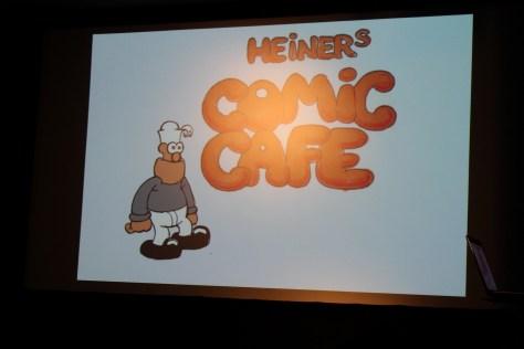Bilder vom Comic Café vom 22.11.2015
