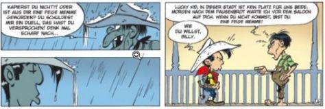 Achdé: Lucky Luke # 91 - Ein starker Wurf
