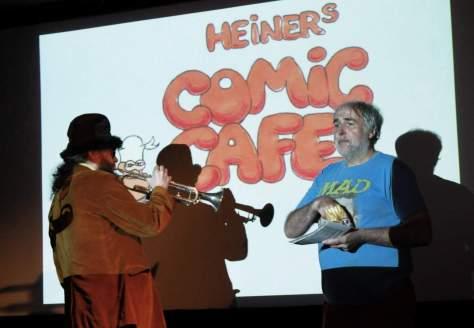 Bilder vom Comic Café vom 03.07.2016