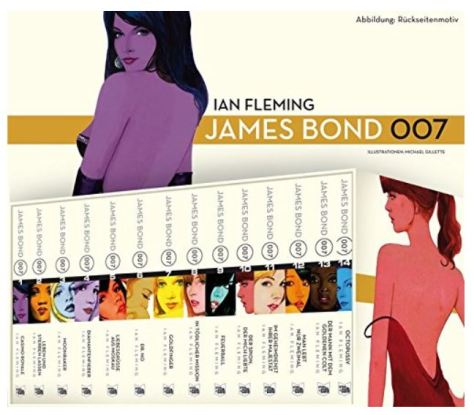 Die James Bond Romane von Ian Fleming