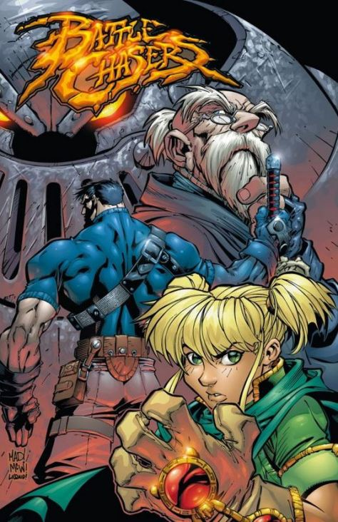 Joe Madureira: Battle Chasers