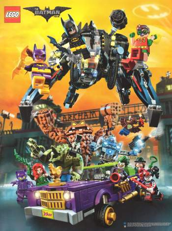 The Lego BATMAN Movie Magazin