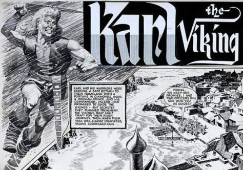 Don Lawrence: Karl der Wikinger